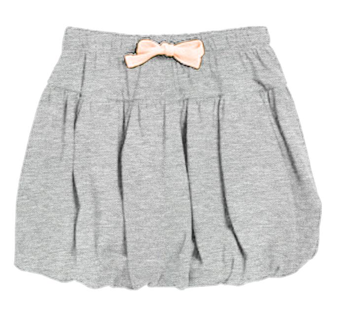 Grey Bubble Skirt 21